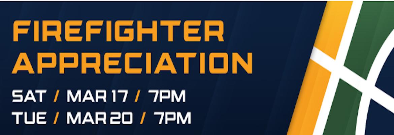 Utah Jazz Fire Fighter Appreciation Night